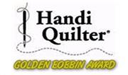 Handi Quilter - Golden Bobbin Award