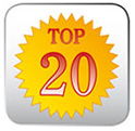 Top 20 Award - Whitlocks Vacuum and Sewing Center