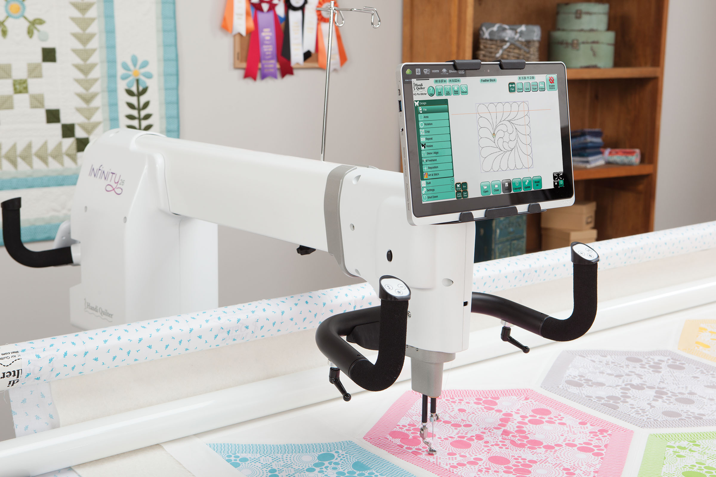Handi Quilter Quot Totally New Quot Infinity 26 Whitlocks