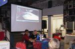 Todd and Linda demonstrating Designer Epic at Designer Epic Open  House