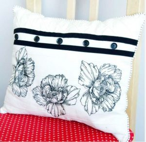 LineArtThrowPillow from Viking