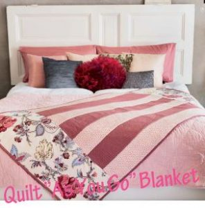 Serger_Quilt-as-You-Go-Blanket from Husqvarna Viking