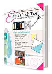 Elaine-Tech-Tips from QuiltSocial