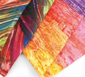 Finger Painting from Quilting Daily
